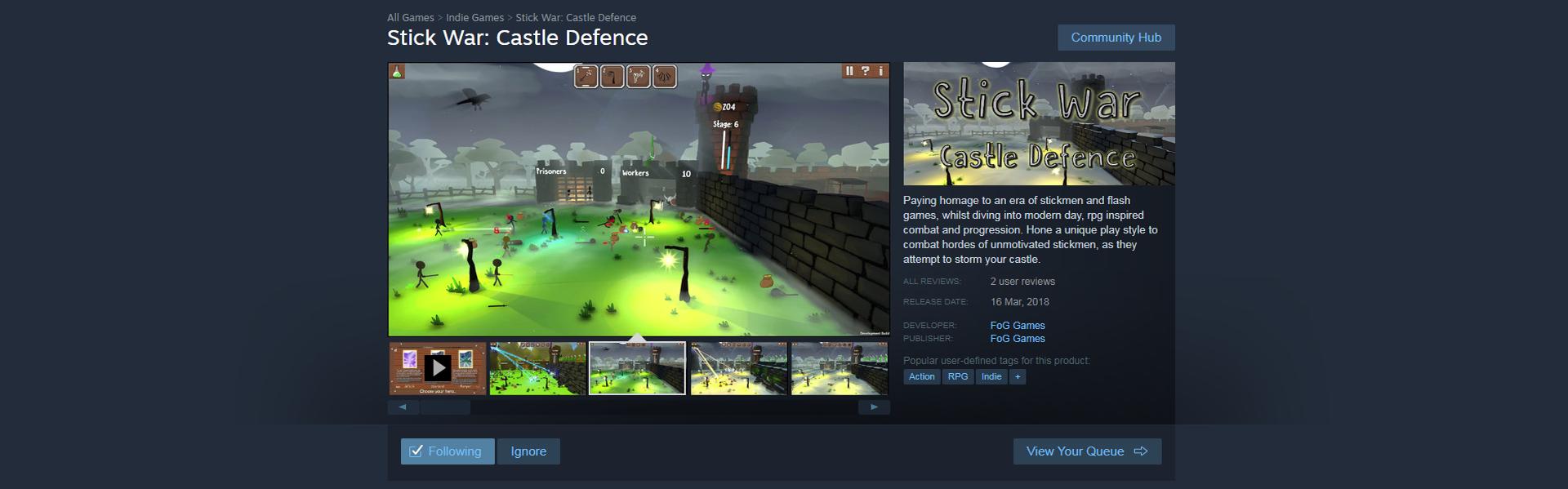 Stick War: Castle Defence